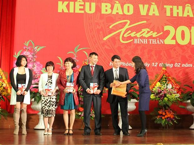 A Hai Phong, rencontre printaniere de Viet kieu a l'occasion du Tet du Singe hinh anh 2