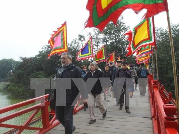 Hanoi accueille plus de 300.000 touristes a l'occasion du Nouvel An hinh anh 1
