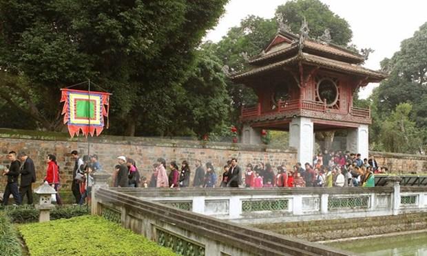 Hanoi accueille plus de 300.000 touristes a l'occasion du Nouvel An hinh anh 2