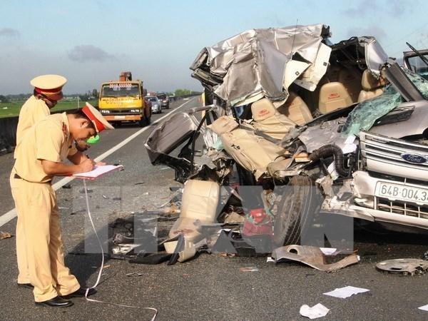 Les accidents de la route tuent 210 personnes en huit jours de vacances du Tet hinh anh 1
