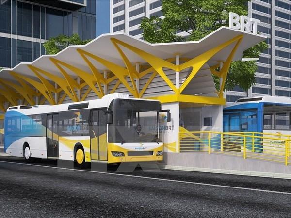 HCM-Ville prevoit un soutien technique pour le projet de bus rapide hinh anh 1