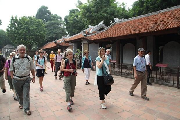 Plus de 464.200 touristes ont visite la capitale pendant le Tet du Singe hinh anh 1