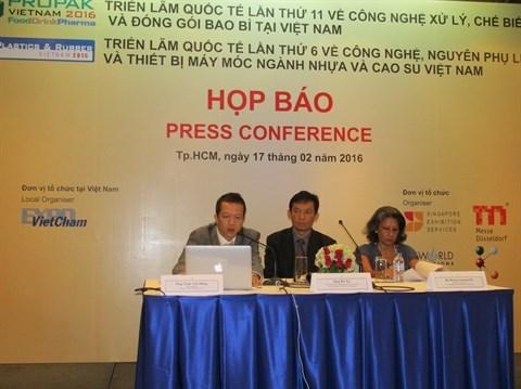 Bientot les expositions ProPak et Plastics & Rubber a Ho Chi Minh-Ville hinh anh 1