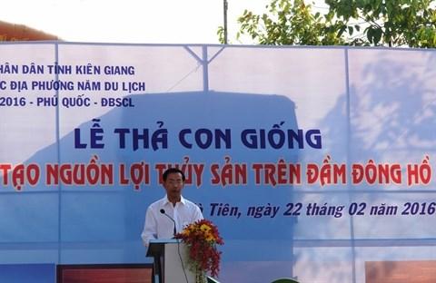 Promotion de la protection des ressources naturelles a Kien Giang hinh anh 1