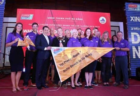 Clipper Race 2015-2016: remise des prix de l'etape « Da Nang-Nouvelle decouverte en Asie » hinh anh 1