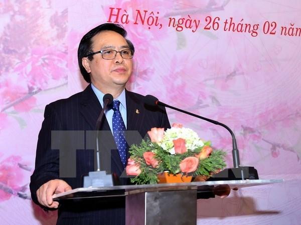 Le PCV souhaite promouvoir ses relations avec les partis politiques de par le monde hinh anh 1