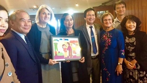 Vietnam - Danemark: succes de la cooperation dans l'education aux Beaux-arts au primaire hinh anh 1