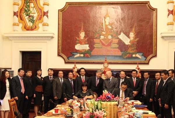 Vietnam et Cambodge promeuvent leur cooperation judiciaire hinh anh 1