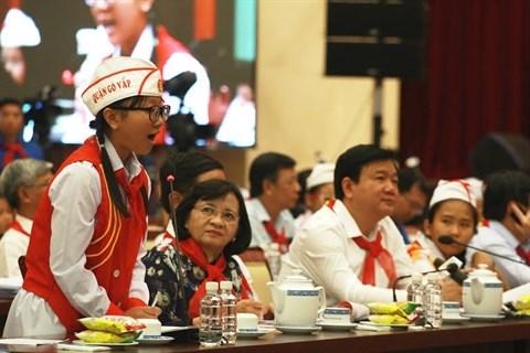 Les autorites de Ho Chi Minh-Ville a l'ecoute des enfants hinh anh 1