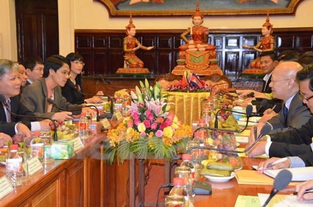 Vietnam et Cambodge promeuvent leur cooperation judiciaire hinh anh 2