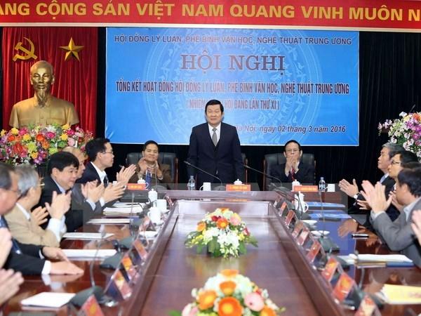 Le chef de l'Etat parle du role de la culture hinh anh 1