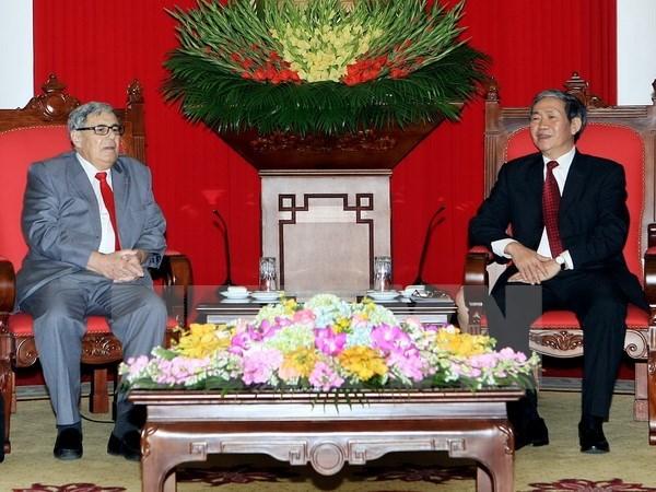 Approfondir l'amitie entre les partis communiste vietnamien et francais hinh anh 1