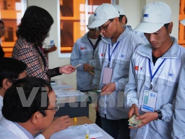 Plus de 15.000 travailleurs envoyes a l'etranger en deux mois hinh anh 1