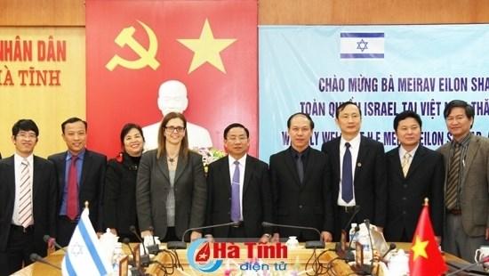 Promouvoir la cooperation agricole entre Ha Tinh et Israel hinh anh 1