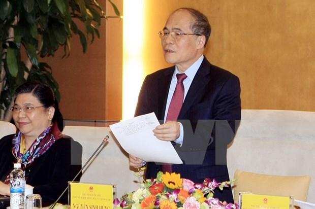 Reunion du Conseil electoral national pour les elections a l'AN et aux conseils populaires hinh anh 1