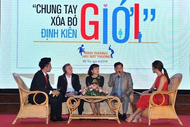Les jeunes vietnamiens se mobilisent pour combattre les stereotypes sexistes hinh anh 1