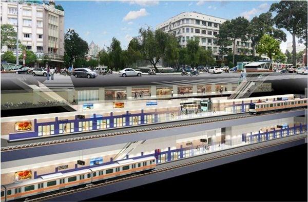 Ho Chi Minh-Ville examine le projet de centre commercial de la gare Ben Thanh hinh anh 1