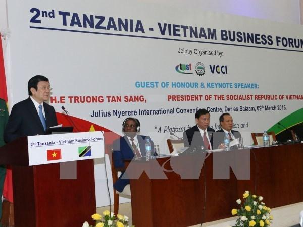 Forum d'affaires Vietnam-Tanzanie hinh anh 1