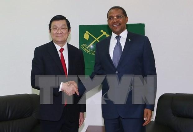 Le Vietnam prend en consideration ses relations d'amitie avec la Tanzanie hinh anh 1