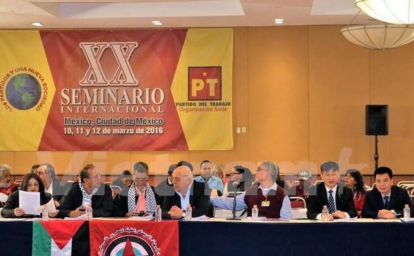 Le PCV a un seminaire international au Mexique hinh anh 1