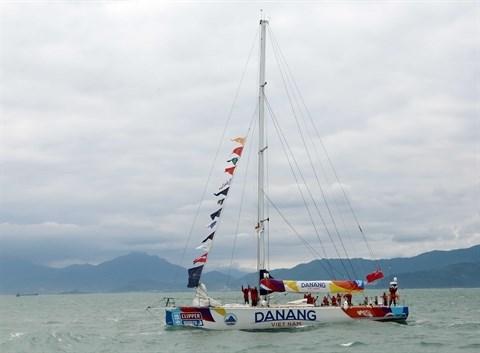 Un Vietnamien au depart de la Clipper Race hinh anh 2