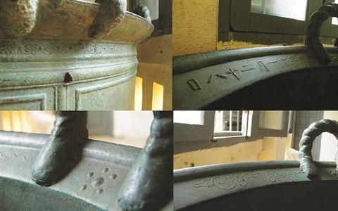 Un mysterieux chaudron de bronze vieux de trois siecles hinh anh 2