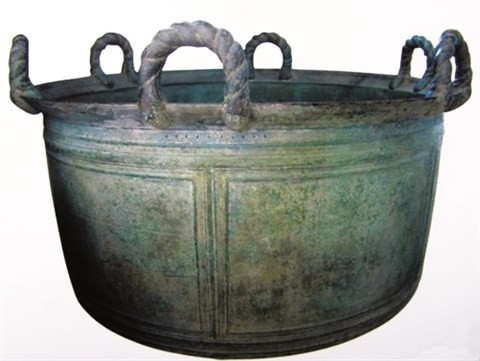 Un mysterieux chaudron de bronze vieux de trois siecles hinh anh 1