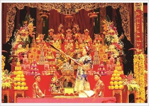Le rituel hau dong, entre art et croyance hinh anh 1