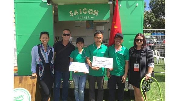 Un groupe vietnamien remporte le Food Truck Face hinh anh 1