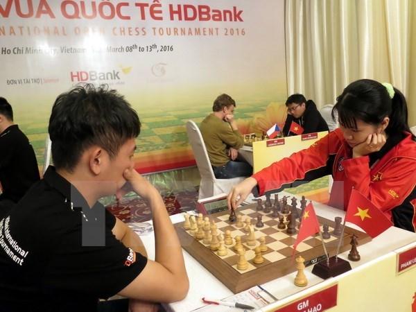 Le Vietnam se classe 5e lors du tournoi international d'echecs HDBank hinh anh 1