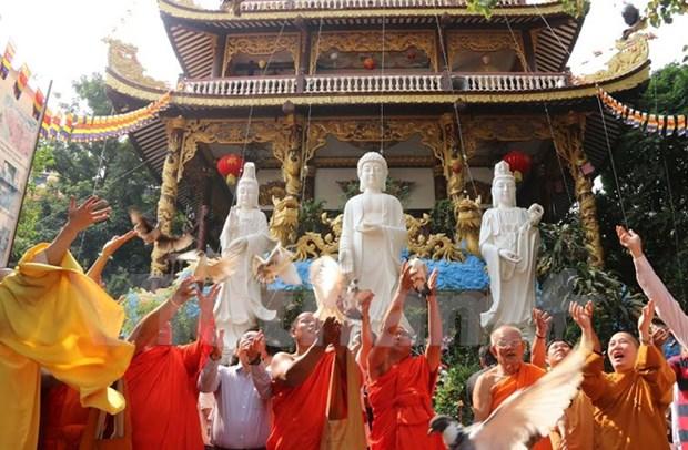 Hommage aux heros vietnamiens morts pour la Patrie au Laos, en Inde et R. Tcheque hinh anh 1