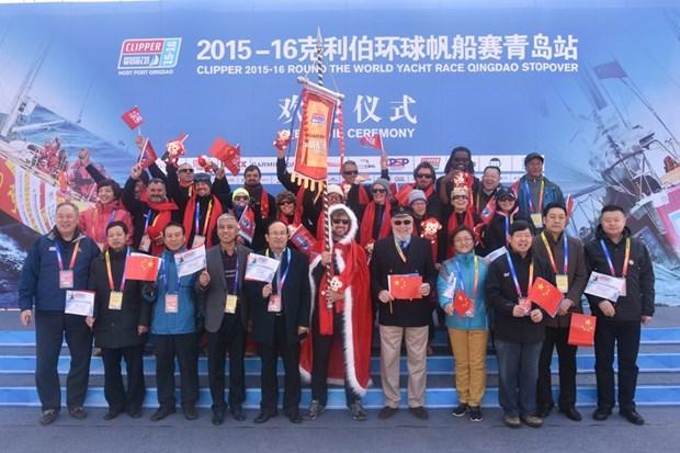 Course Clipper Race 2015-2016 dans la baie de Qingdao (Chine) hinh anh 3