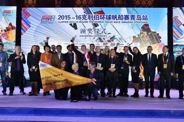 Course Clipper Race 2015-2016 dans la baie de Qingdao (Chine) hinh anh 4