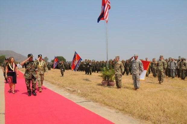 Debut de manoeuvres conjointes Cambodge-Etats-Unis 2016 hinh anh 1