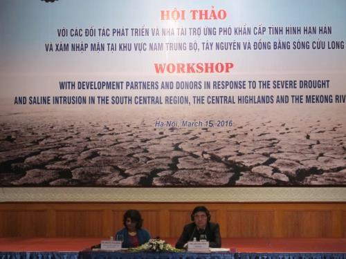 Le Vietnam fait appel a des aides internationales contre la secheresse et la salinisation hinh anh 1