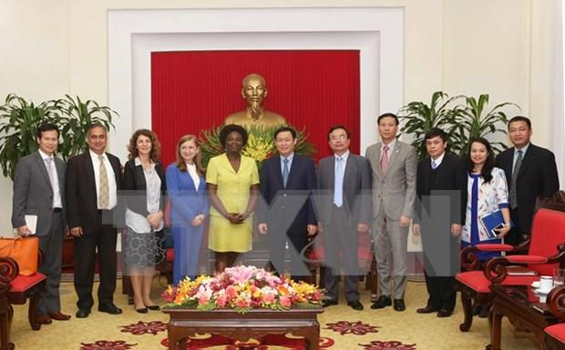 La Banque mondiale accompagne l'integration du Vietnam au monde hinh anh 1