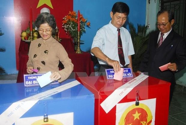 Hanoi : 87 candidats aux elections de l'Assemblee nationale (14e legislature) hinh anh 1