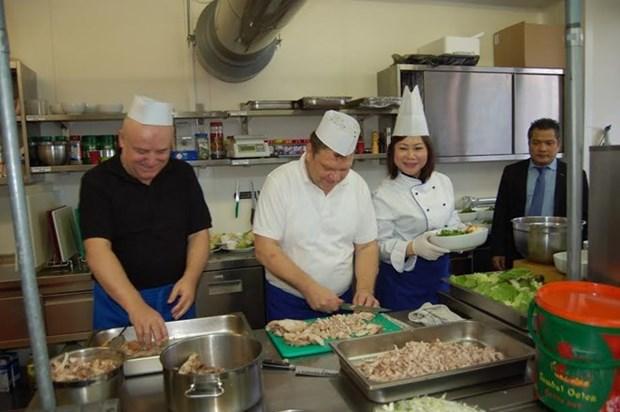 Journee de la cuisine vietnamienne en Slovaquie hinh anh 1