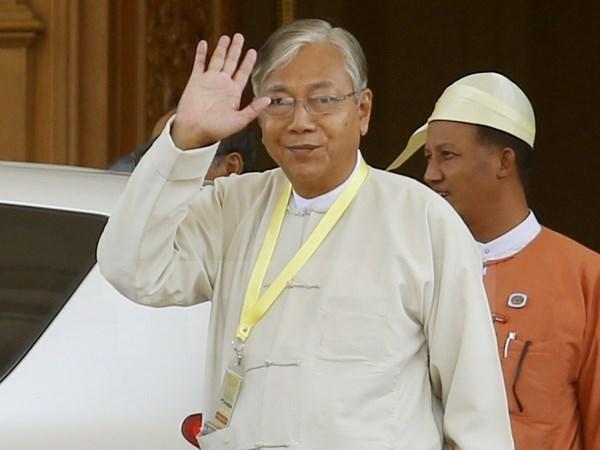 Le Vietnam felicite le Myanmar pour le succes de l'election presidentielle hinh anh 1