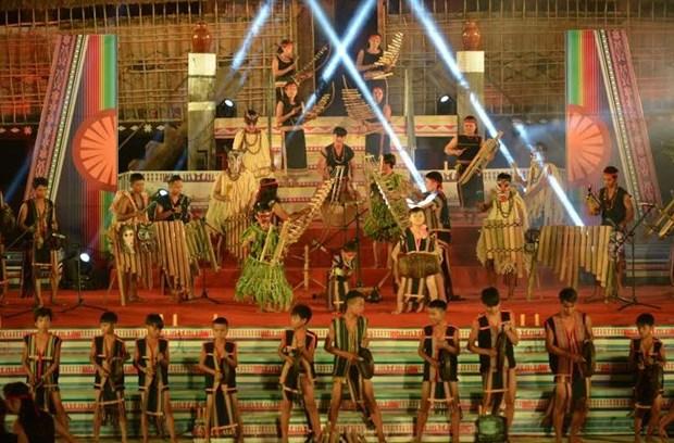 Coup d'envoi du Festival des arts folkloriques du Tay Nguyen hinh anh 1