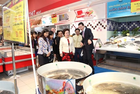 Inauguration du nouveau Big C Thang Long hinh anh 1