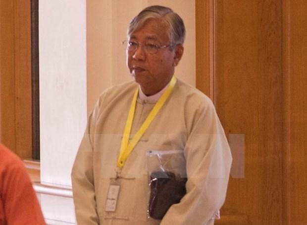 Le Parlement birman adopte la formation d'un nouveau gouvernement hinh anh 1