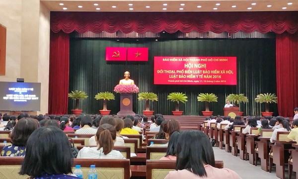 Ho Chi Minh-Ville accelere l'application des lois sur l'assurance sociale et l'assurance-sante hinh anh 1