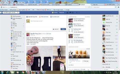 Le Vietnam compte 35 millions d'utilisateurs de Facebook hinh anh 1