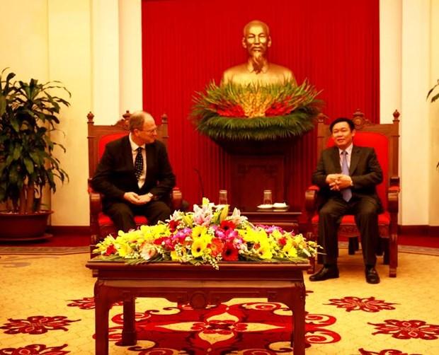 Le Vietnam donne de l'importance a la cooperation avec l'Allemagne hinh anh 1