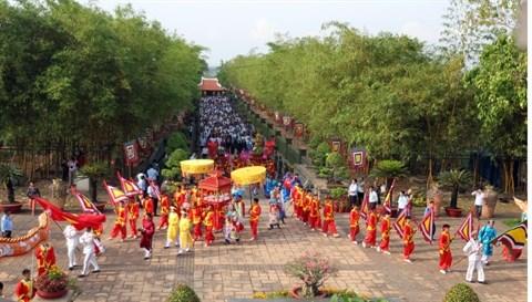 Un festival d'activites pour honorer le Temple des rois Hung hinh anh 1