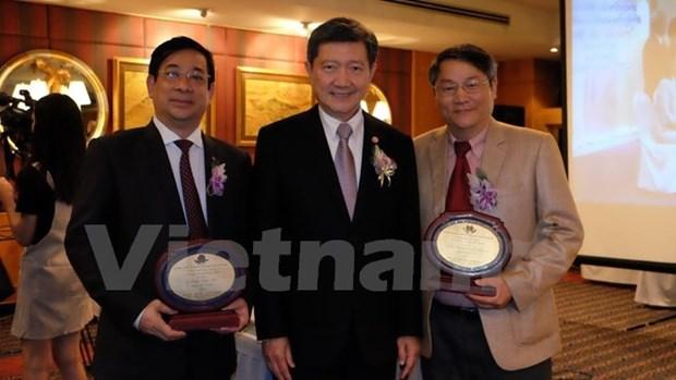 Une universite thailandaise honore deux Vietnamiens hinh anh 1