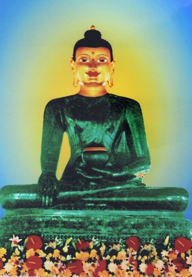 Quang Binh accueille la statue du Bouddha de Jade hinh anh 1