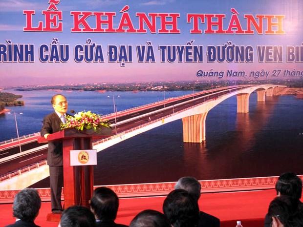 Inauguration du pont Cua Dai dans la province de Quang Nam hinh anh 2