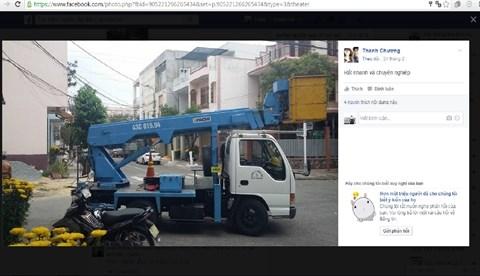 Une page de Facebook pour gerer la ville de Da Nang hinh anh 2